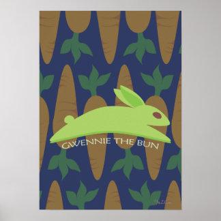 Gwennie The Bun: Night Raider Poster