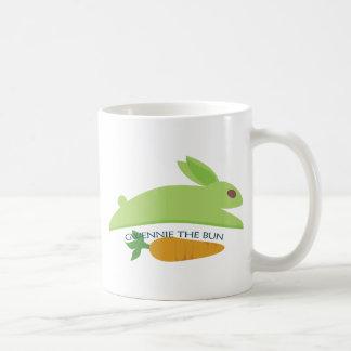 Gwennie The Bun With Carrot Coffee Mug