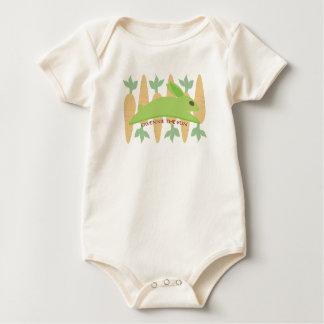 Gwennie The Bun With Carrots Baby Bodysuit