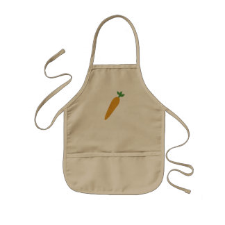 Gwennie's Carrot Kids' Apron