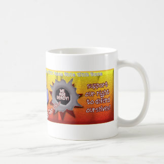 GWG Girls With Guns! Support our right to defend Coffee Mug