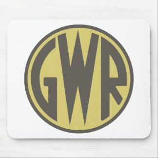 GWR Great Western Railways Trains 1930sHiking Duck Mouse Pad