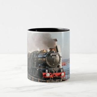 GWR King Edward 1 Steam Engine Two-Tone Coffee Mug