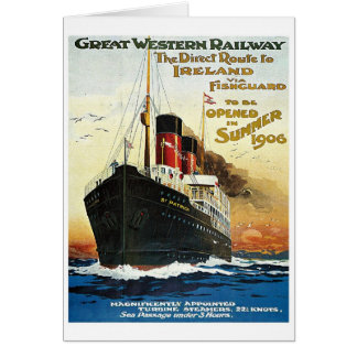 GWR Travel to Ireland Poster Cards
