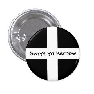Gwrys yn Kernow - Made in Cornwall Button