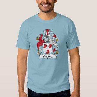 Gwynn Family Crest Tee Shirt