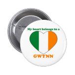Gwynn Pinback Buttons