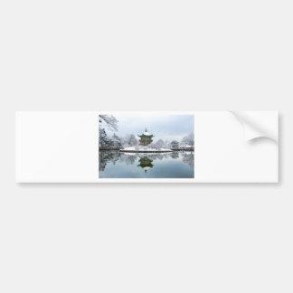 gyeongbok asian palace bumper sticker