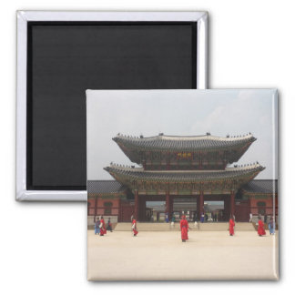 gyeongbokgung imán cuadrado