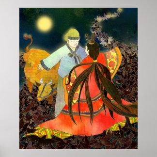 Gyeonwu & Jiknyeo: The Story of Chilseok in Korea Posters