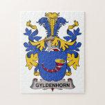 Gyldenhorn Family Crest Jigsaw Puzzle