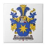 Gyllenstierna Family Crest Ceramic Tiles