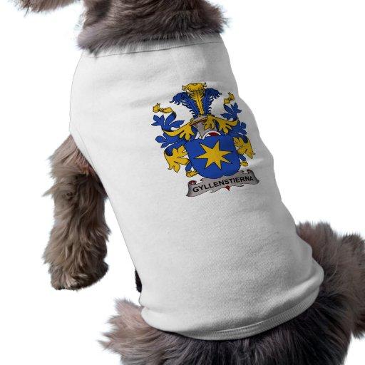 Gyllenstierna Family Crest Dog Clothes