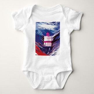 Gylliayn Art Lighthouse Stanley Park Baby Bodysuit