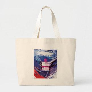 Gylliayn Art Lighthouse Stanley Park Tote Bag
