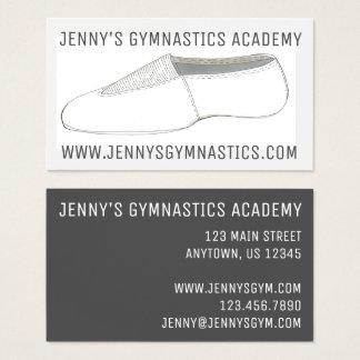 Gym Acro Acrobatics Shoe Gymnastics Business Cards
