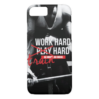 Gym and Fitness Motivation - Bodybuilding, Lifting iPhone 7 Case