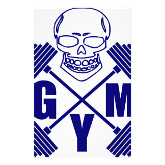 Gym and lifting stationery