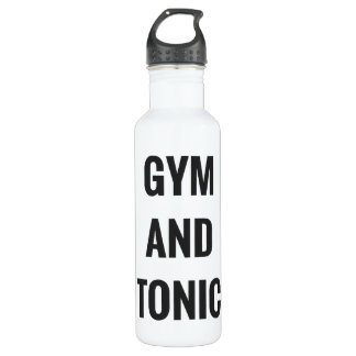 GYM AND TONIC - HYDRATE WATER BOTTLE
