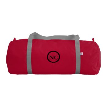 Gym Bag Nc Custom Groupstahl by CREATIVESPORTS at Zazzle