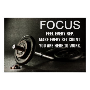 Weight room motivational posters
