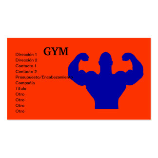 GYM BUSINESS CARDS