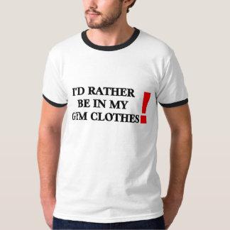 Gym Clothes T-Shirt