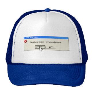 Gym Computer Error Hat