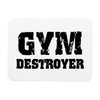 Gym Destroyer Magnet