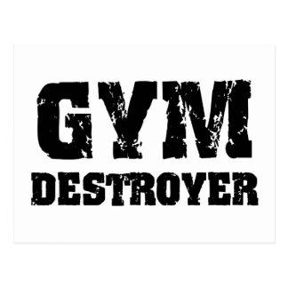 Gym Destroyer Postcard