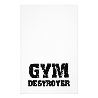 Gym Destroyer Stationery
