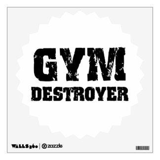 Gym Destroyer Wall Decal