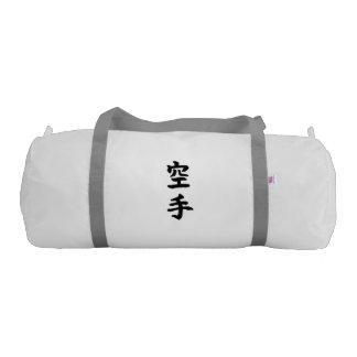 Gym Duffle Bag: Karate 空手 (Chinese Kanji / Hanzi) Gym Bag