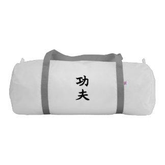 Gym Duffle Bag: KungFu 功夫 (Chinese Kanji / Hanzi) Gym Bag