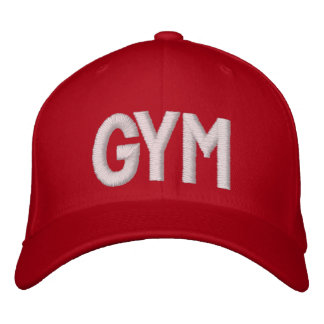 Gym Embroidered Hat