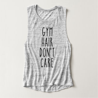 Gym Hair Don't Care Tank Top