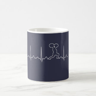 GYM HEARTBEAT COFFEE MUG