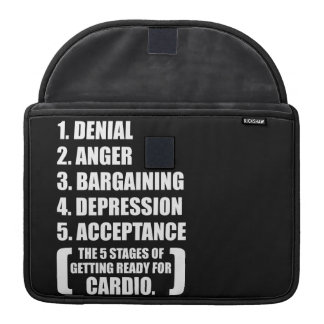 Gym Humor - Cardio Sleeve For MacBooks