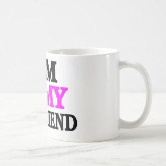 Gym is My BoyFriend Classic White Coffee Mug