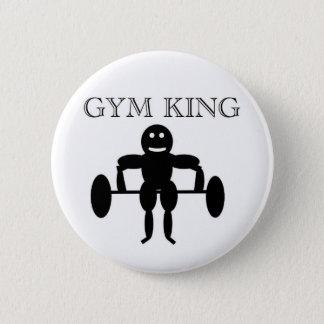 Gym King Pinback Button
