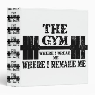 Gym Motivation Binder