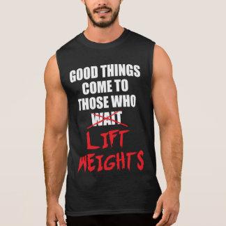 Gym Motivation - Bodybuilding, Lifting Weights Sleeveless Shirt