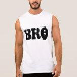 "Gym Motivation ""Bro"" Sleeveless T-shirts"