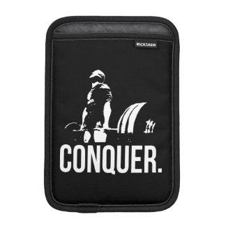 Gym Motivation - CONQUER iPad Mini Sleeve