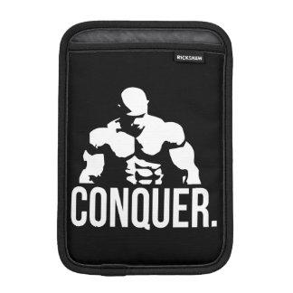 Gym Motivation - CONQUER iPad Mini Sleeves