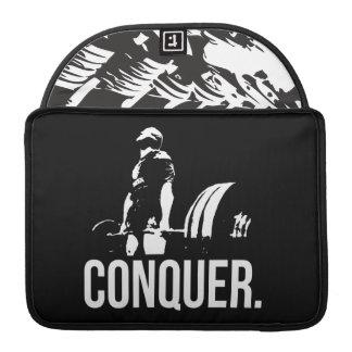 Gym Motivation - CONQUER MacBook Pro Sleeve