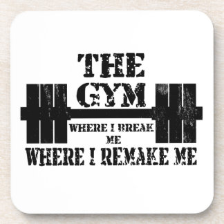 Gym Motivation Drink Coaster