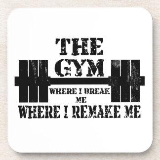 Gym Motivation Drink Coaster