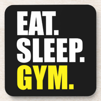 Gym Motivation - Eat, Sleep, Gym Coaster