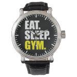 Gym Motivation - Eat, Sleep, Gym Wrist Watch